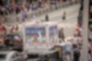New York Yankees Digital Billboard Truck.