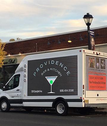 Providence Bar & Kitchen Digital Truck.
