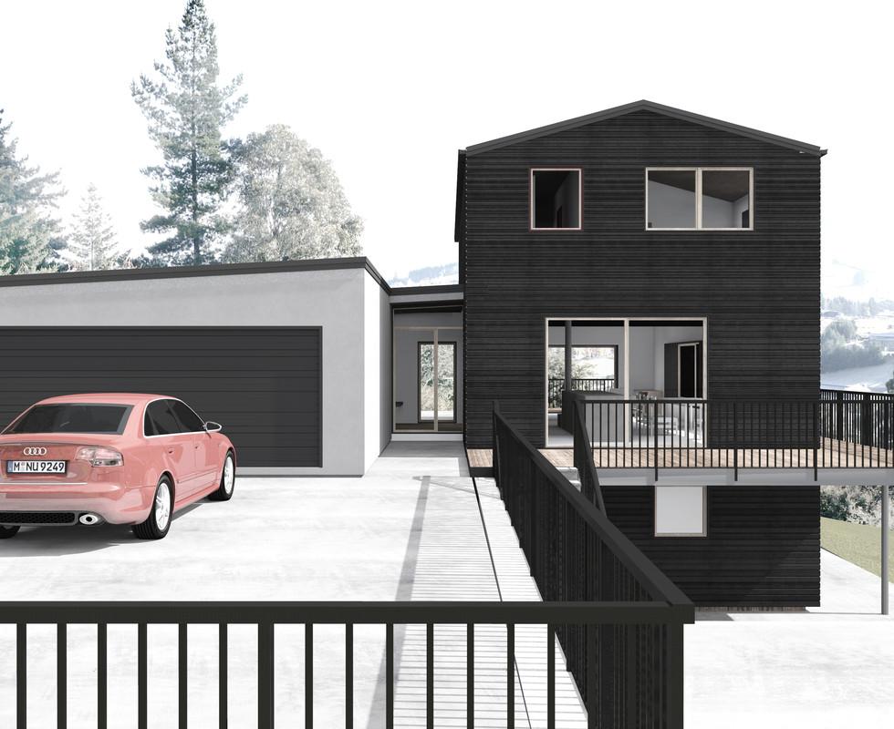 Residential House and Studio in Wanaka, Otago