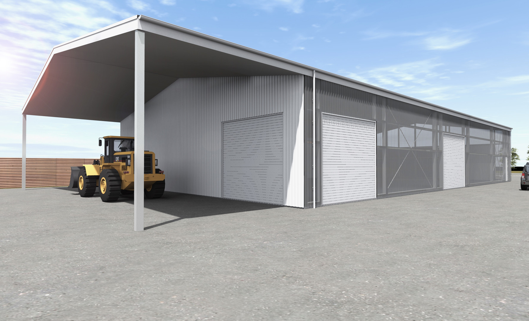 Shed with an Office