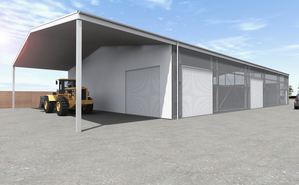 Commercial Warehouse With Office