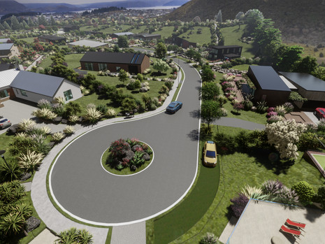 Te Rangi Estate is the perfect example of residential subdivision development