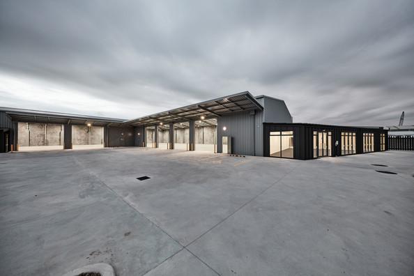Greywacke commercial warehouse development