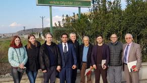 Агробиохимическая лаборатория посетила турецкие города Эрзинь и Османие