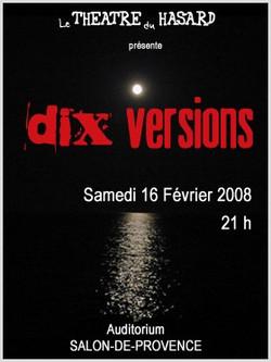 affiche Dix versions
