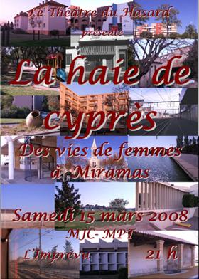 Affiche La Haie de Cyprès