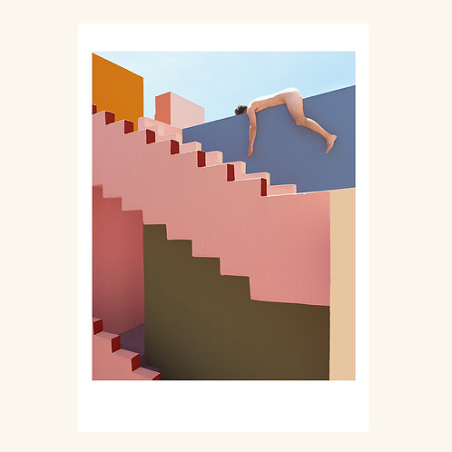 Muralla Stairwell
