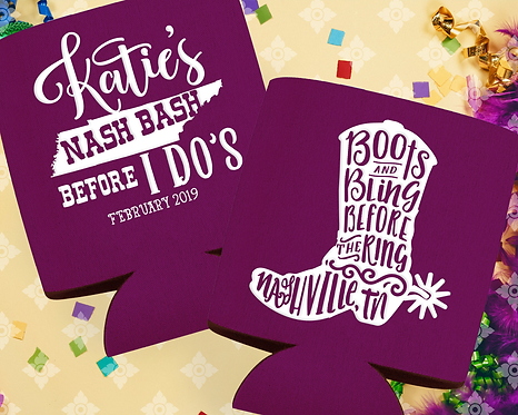 Nash Bash Bachelorette Can Cooler