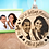 Thumbnail: We're Getting Married Picture Engraved Ornament