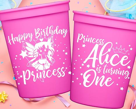 Princess Birthday Cup