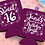 Thumbnail: Sweet 16 Birthday Can Cooler