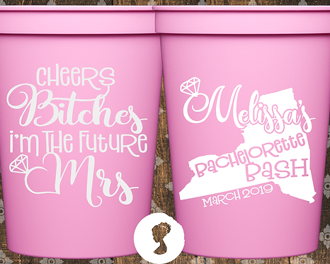 Cheers Birches Bachelorette Party Stadium Cup