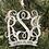 Thumbnail: Monogram Acrylic Engraved Ornament