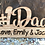 Thumbnail: Personalized #1 Dad Custom Wood Plaque