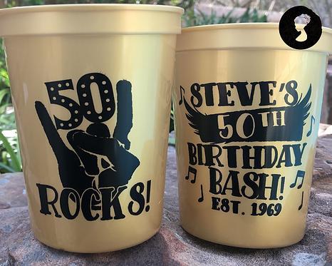 50 Rocks Birthday Cup