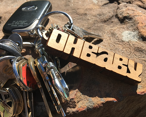OH BABY Key Chain