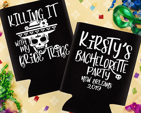 Killing it with the Bride Bachelorette Can Cooler