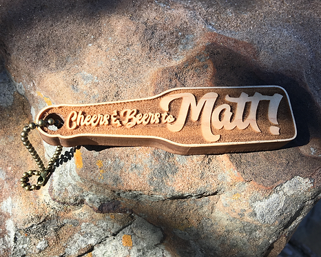 Cheers to Beers Key Chain