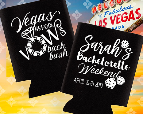Vegas Before Vows Bachelorette Can Cooler