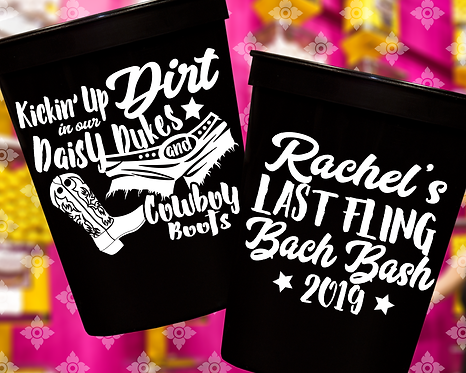 Last Fling Bachelorette Party Stadium Cup