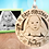 Thumbnail: First Christmas Picture Engraved Ornament
