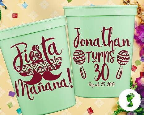 Fiesta Manana Birthday Cup