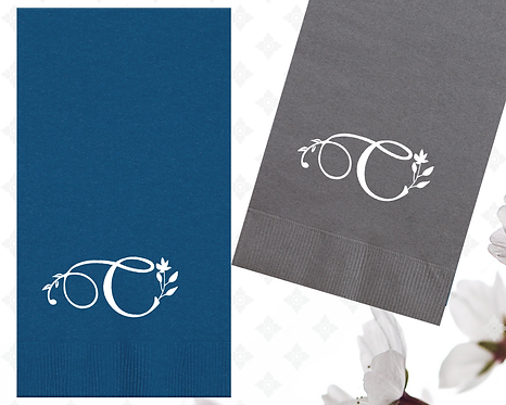 Personalized Guest Towel