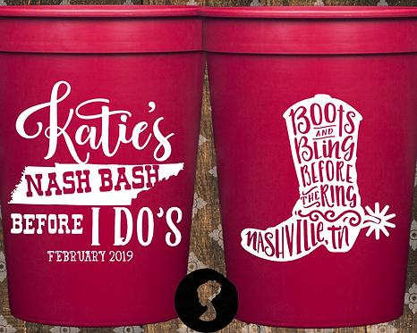 Nash Bash Bachelorette Party Stadium Cup