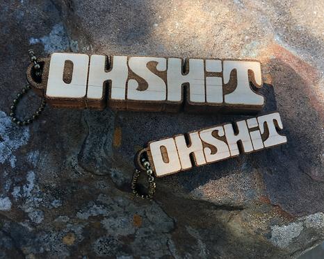 OHSHIT Mini Key Chain