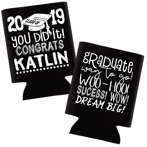 Personalized Graduation Can Cooler