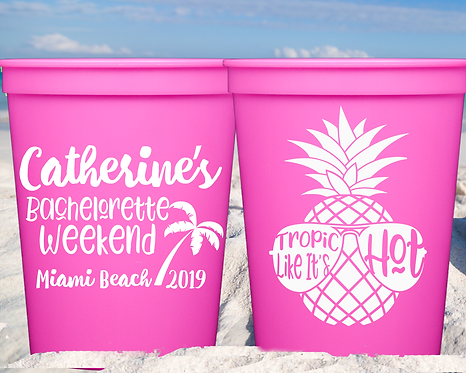 Bachelorette Weekend Party Cup