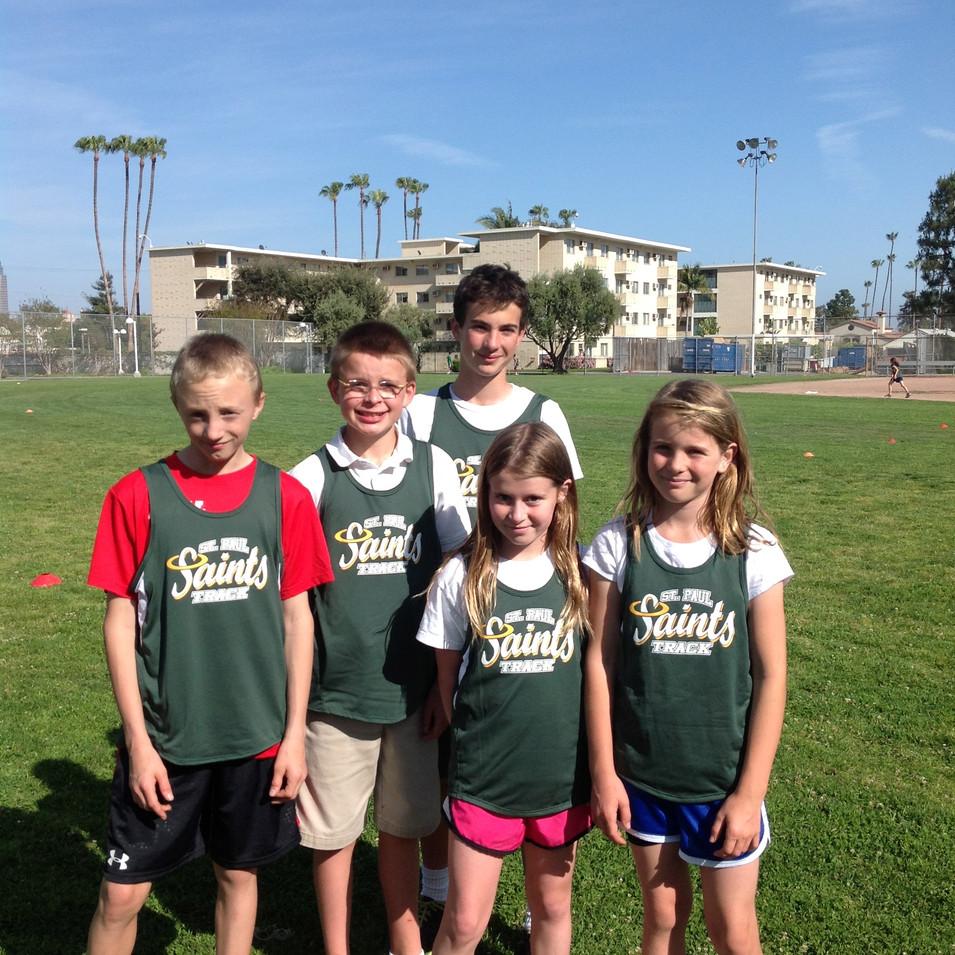 Saints Track Team