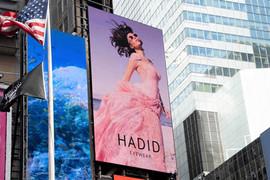 Hadid eyewear Time square NYC
