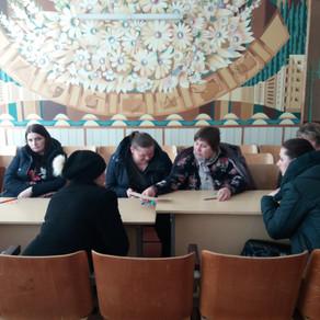 Загальношкільні батьківські збори за круглим столом