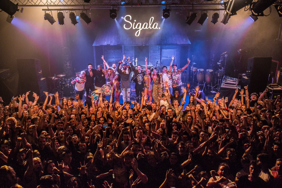 Sigala UK Tour 2017