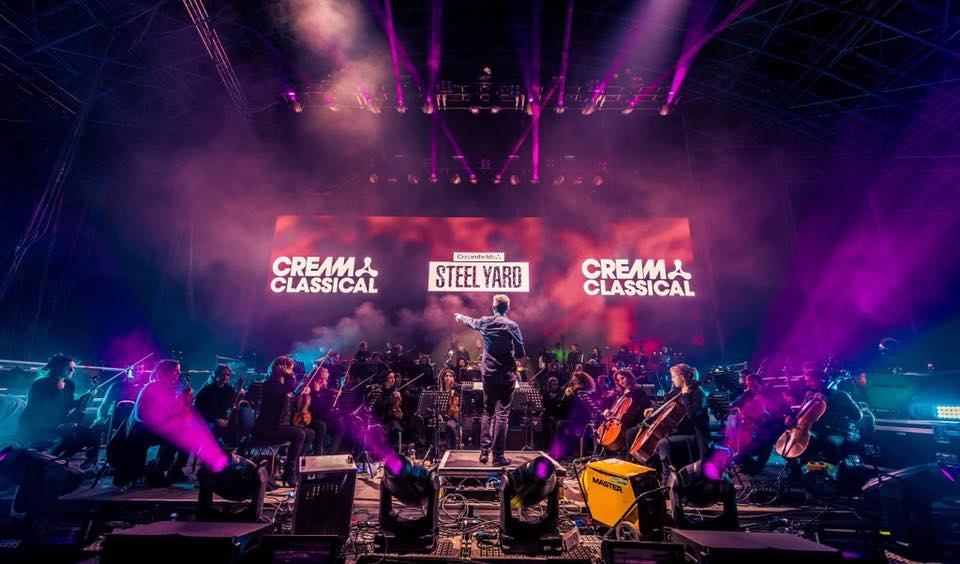 Cream Classical Steelyard