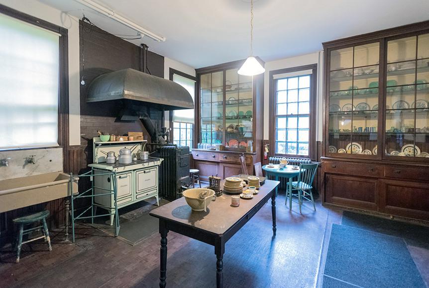 Chas. Shultz House Kitchen
