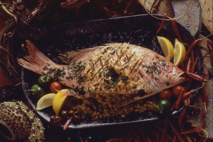 KGM Grilled Red Snapper