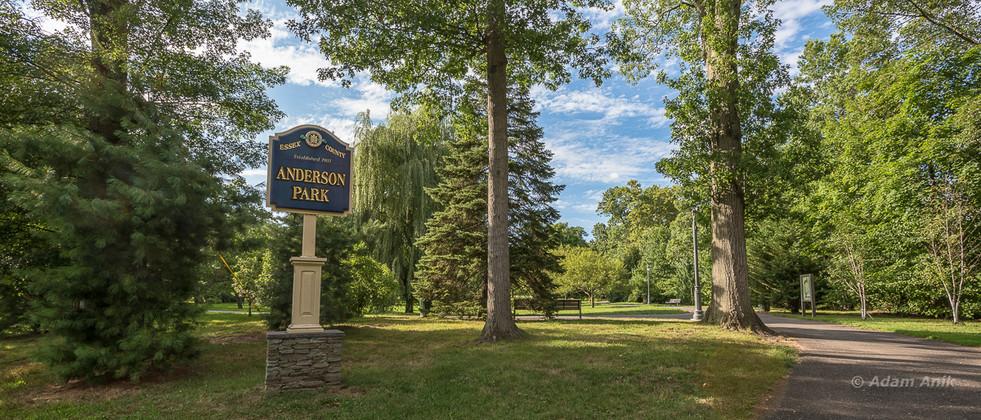 Anderson Park SE entrance