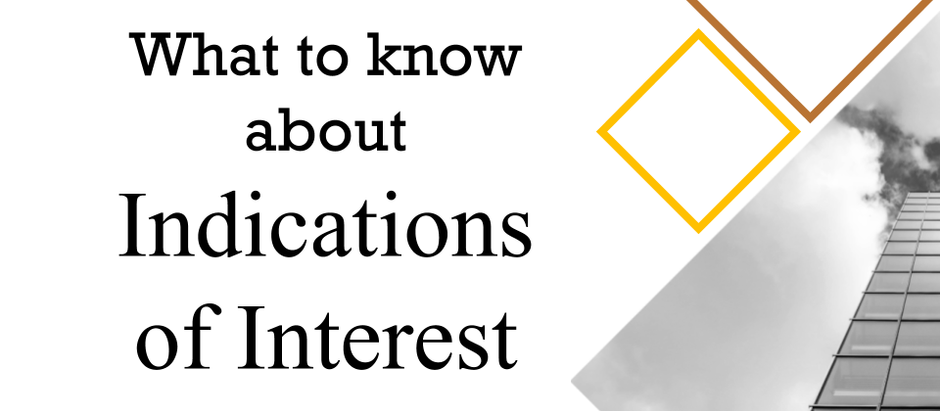 What to know about Indications of Interest