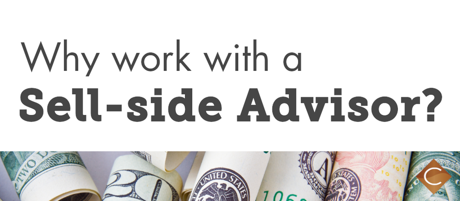 Why Work with a Sell-side Advisor