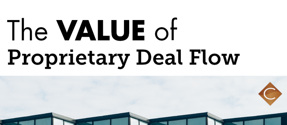The Value of Proprietary Deal Flow