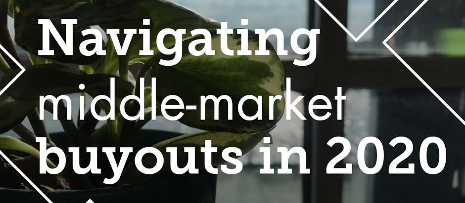 Navigating Middle-Market Buyouts in 2020