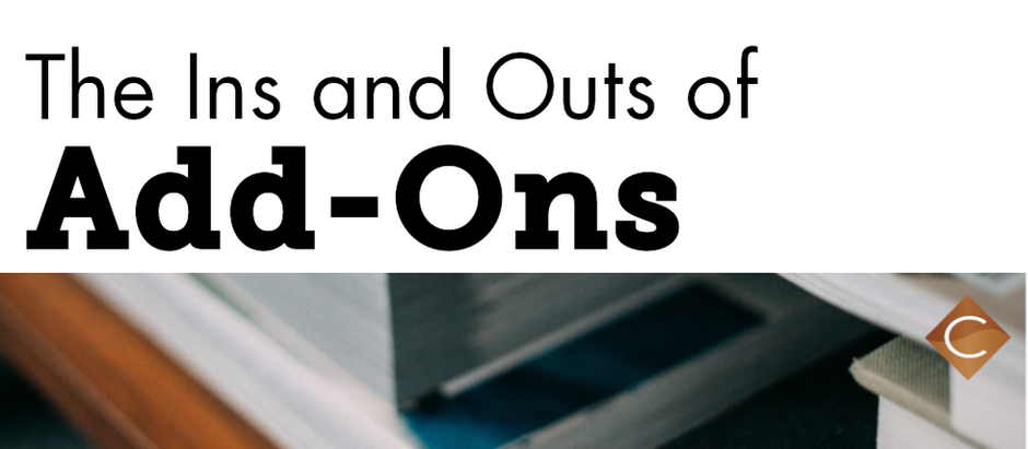 The Ins and Outs of Add-Ons