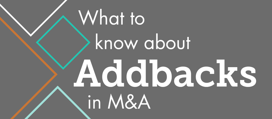 What to Know about Addbacks in M&A
