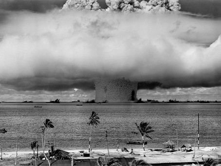 TREATY BANNING NUCLEAR WEAPONS ENTERS INTO FORCE (B1+/B2)