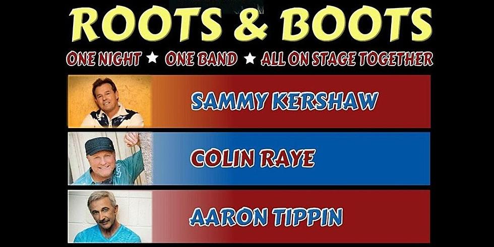 Sammy Kershaw, Collin Raye & Aaron Tippin Roots & Boots Tour