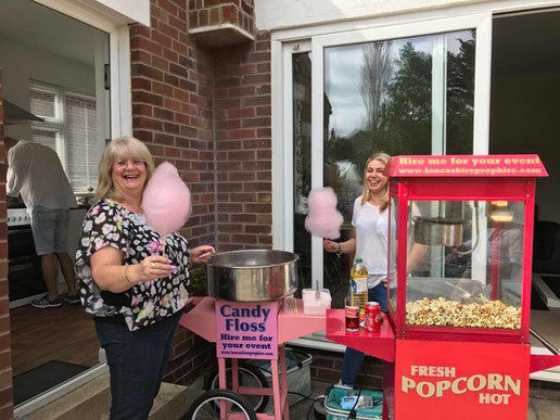 Popcorn & Candy Floss