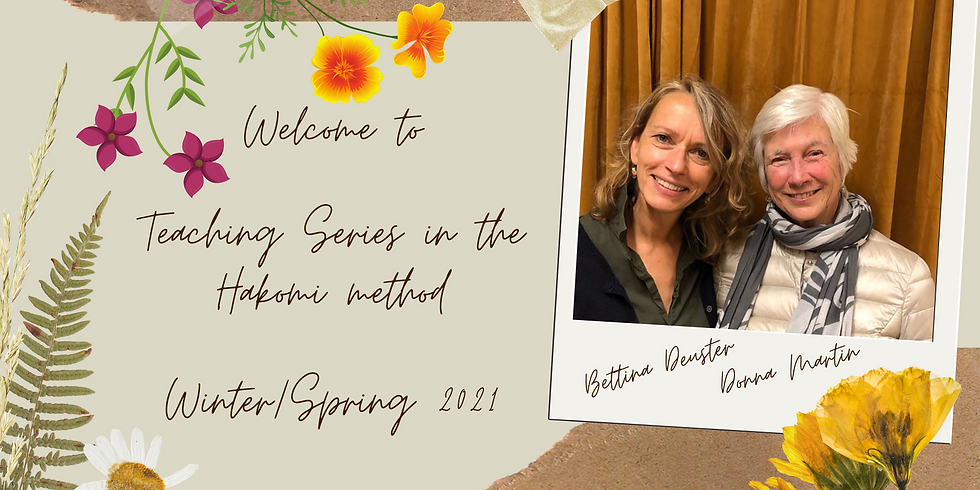 Teaching series with Donna Martin & Bettina Deuster (debit/credit card and PayPal payment)
