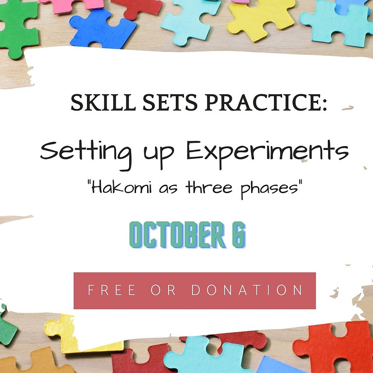 Skill sets practice: Setting up Experiments (Phase 2)